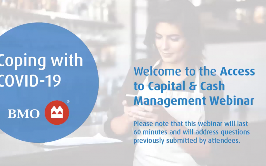 Coping with COVID-19: Access to Capital & Cash Management